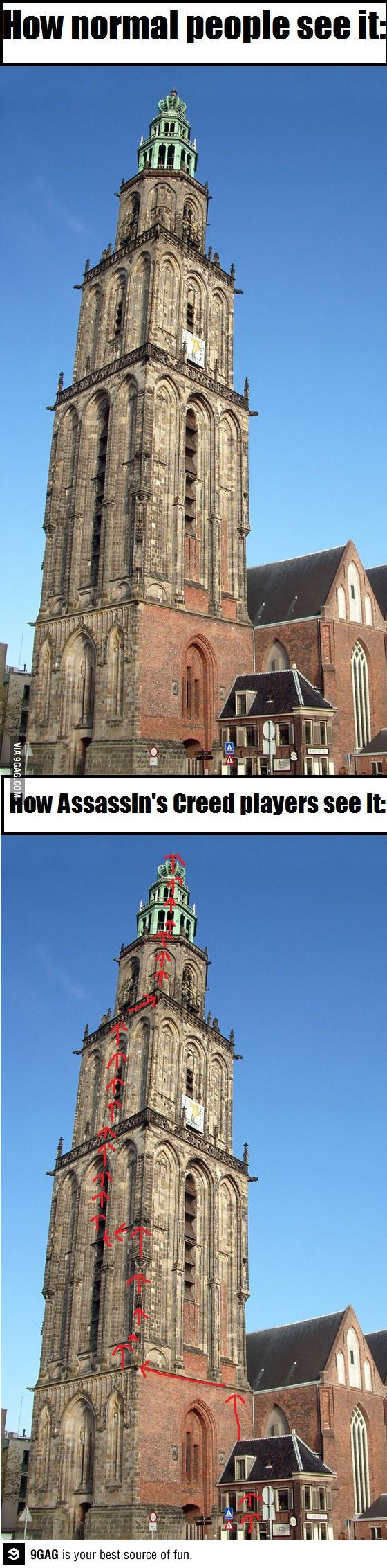 Assassins Creed perspective
