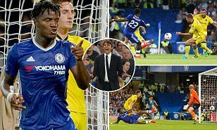 23 August 2016 / Chelsea 3-2 Bristol Rovers: Michy Batshuayi marks full debut with a brace as League One visitors refuse to back down at Stamford Bridge...