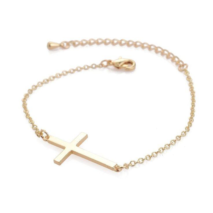Christian Cross Chain bracelet