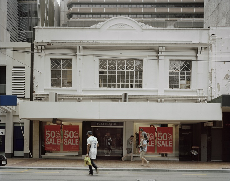 Allan McDonald, Willis Street, 2012 from Walking in the City. Exhibition runs Wednesday 22 May at 11 - Saturday 15 June at 4