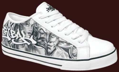 jose lopez tattoo flash | esa ya tengo mis zapatillas de jose lopez de low rider tattoo ...