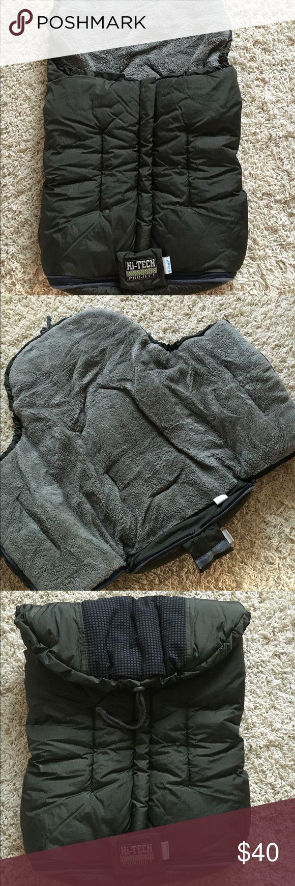 "Very warm baby footmuff/ stroller cover Dim. 28"" long"