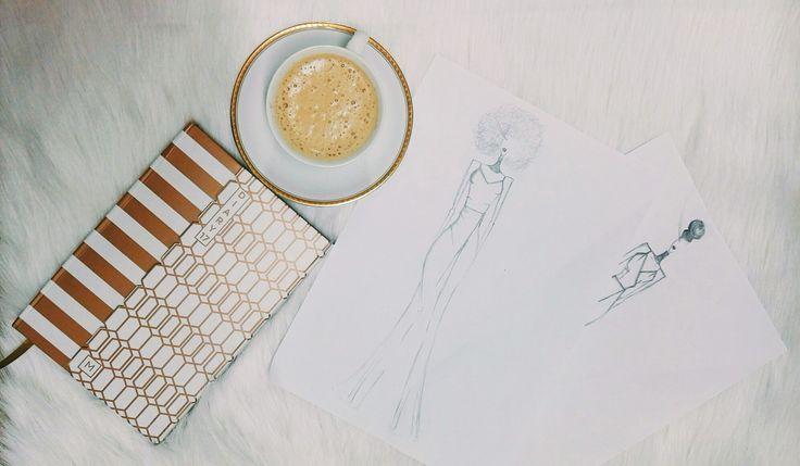 Fashion illustrations I love sketching