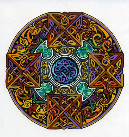 Celtic Art -- old & new. It's intricate patterns & symbology have launched a thousand tattoos -- among other things. ;-)