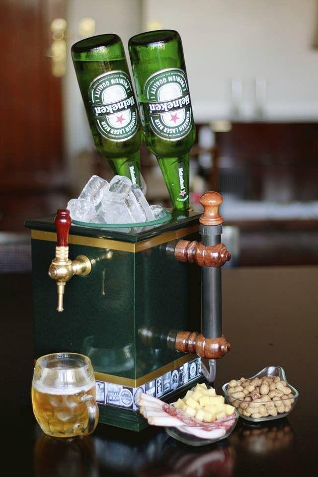 Cerveza En Casa Grifos De Cerveza Dispensador De Alcohol Licoreras De Madera