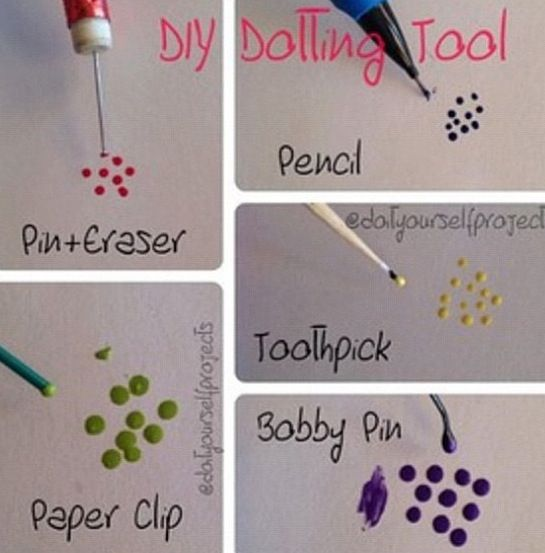 DIY Nail Polka Dots the HARD way. Try it the EASY Jamberry way! http://tesa.jamberrynails.net/category/dotted-line https://www.facebook.com/tesajamberrynails
