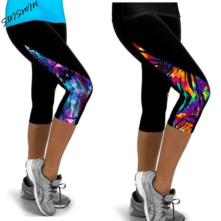 TOIVOTUKSIA Donne Leggings A Vita Alta Femminili Pantaloni Stampati Stretch Crea Leggings Casual Miti-Colori
