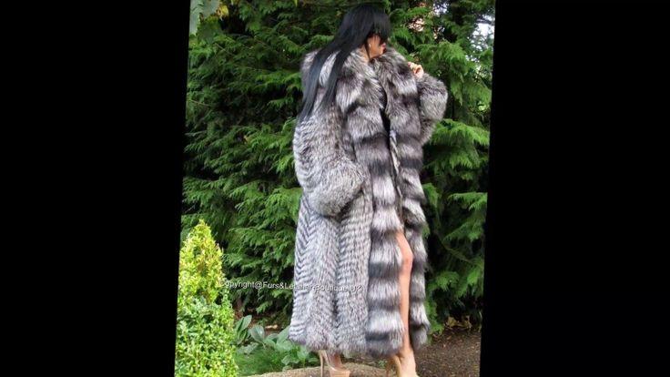 Woman In Silver Fox Fur Part 9