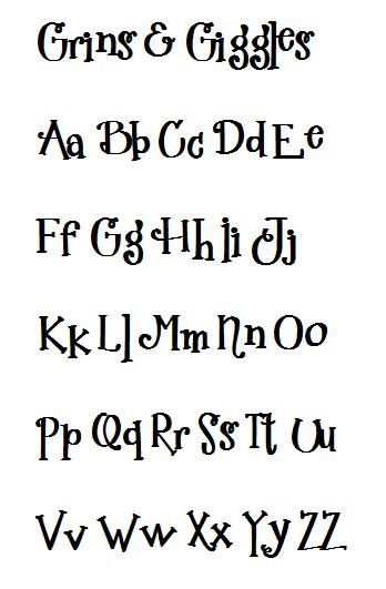 Best 25 Cute Fonts Alphabet Ideas On Pinterest Letter