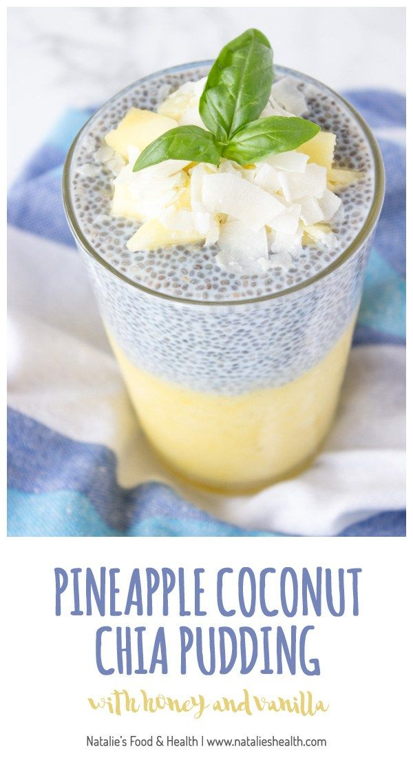 Refreshing and very nutritious tropical pineapple coconut chia pudding is an ultimate healthy meal. Packed with high-quality proteins…