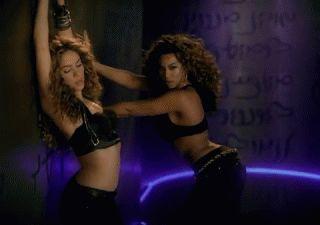 Shakira et Beyoncé
