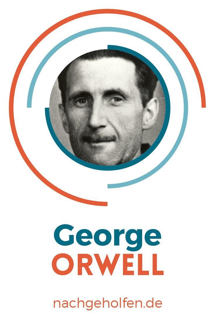 Schule, lernen, Lerntipps, Nachhilfe, Noten verbessern, Lernvideos, Online-Nachhilfe, online lernen, E-Learning, bessere Noten, Englisch-Unterricht, George Orwell