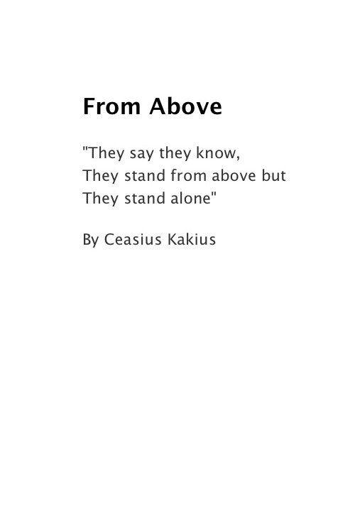 ceasius kakius art diego acevedo llosa | Words
