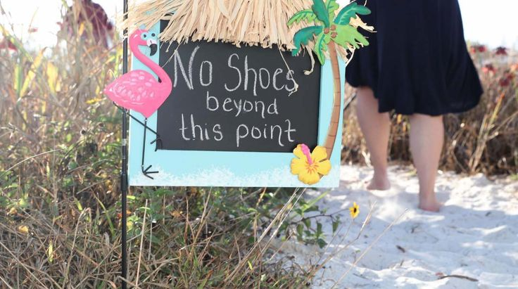 Florida beach wedding rules are easy to obey