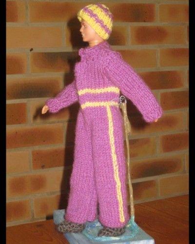 Ken en combinaison de ski - tuto tricot : http://tricotdamandine.over-blog.com/tag/tutos%20ken%20explications%20gratuites/