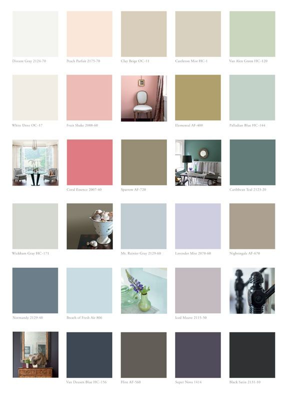 An overview of the 2014 paint colour trends from Benjamin Moore, Behr and  more.