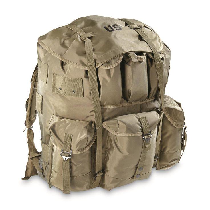 U.S. Military Surplus ALICE Pack, New - 667339, Rucksacks & Backpacks at Sportsman's Guide