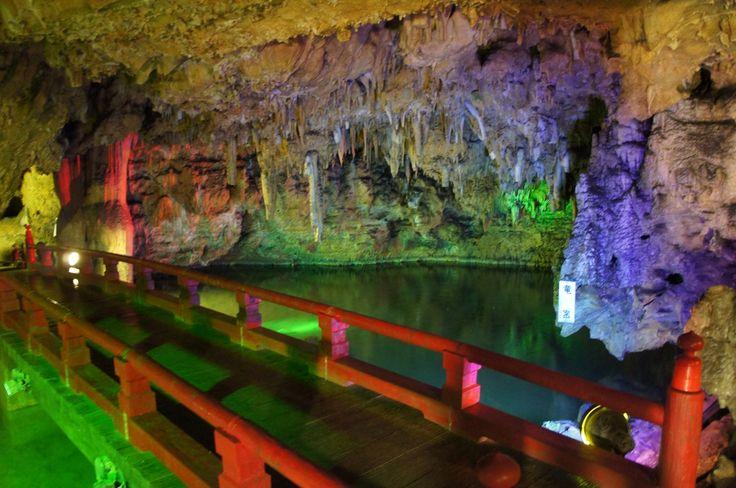 満奇洞 : 【保存版】息をのむ美しさ!一生に一度は行きたい日本の絶景 - NAVER まとめ