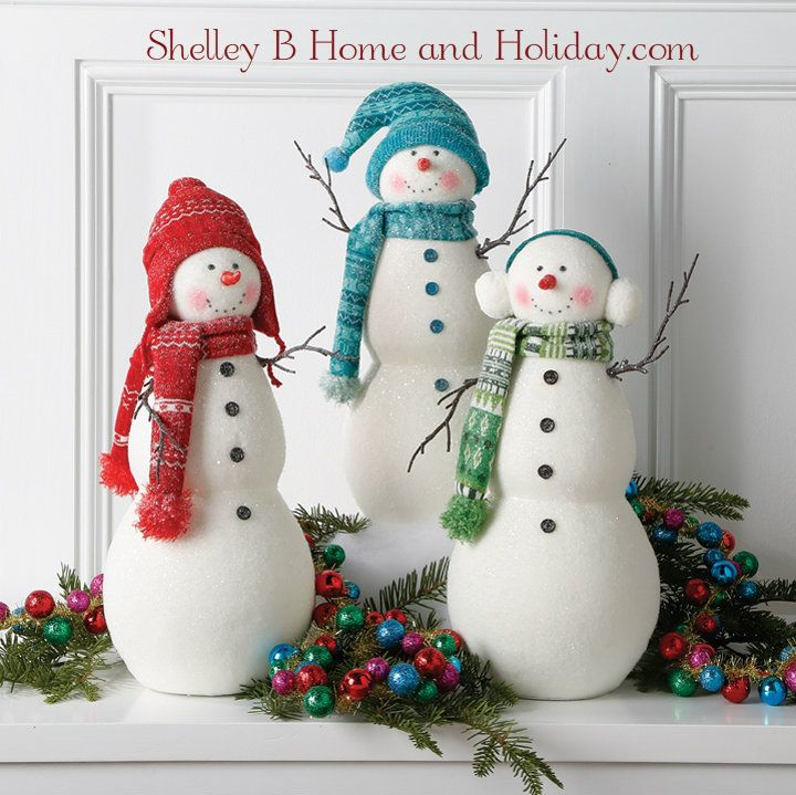 Shelley B Home and Holiday Snowman