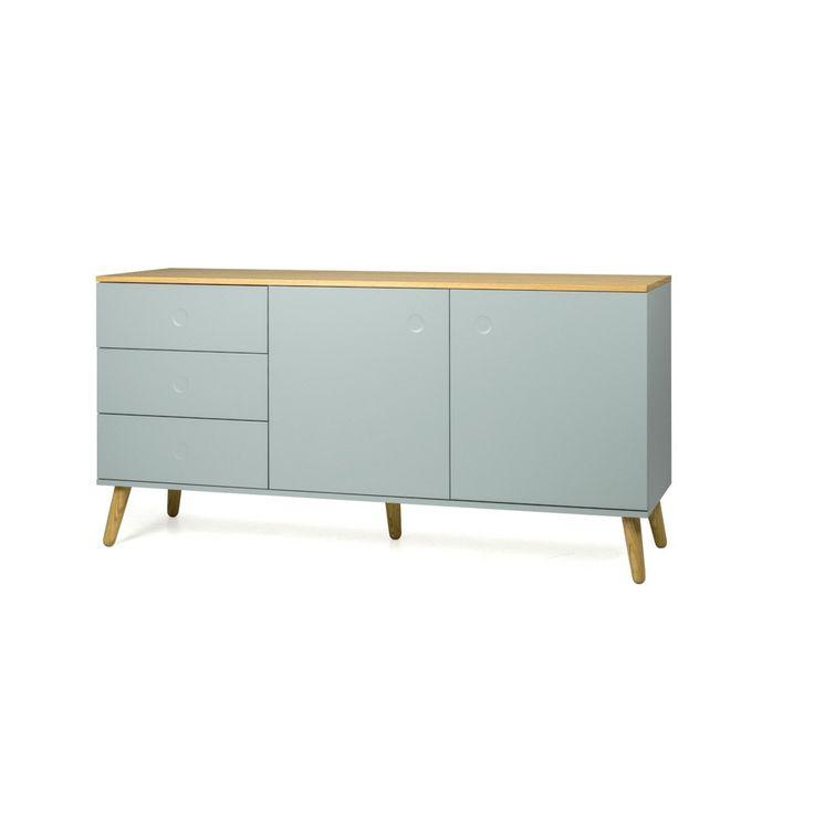 Scandinavisch Dressoir Stip | Design meubelen en de laatste woontrends #scandinavisch #dressoir #stip #tenzo #pushopen #kast #design #interieur #retro #vintage #eigentijds