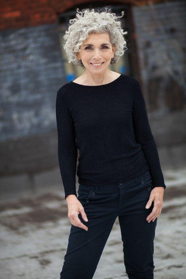 100 Best Short Hairstyles For Women Over 50 Femina Talk Grey Curly Hair Curly Hair Styles Short Grey Hair