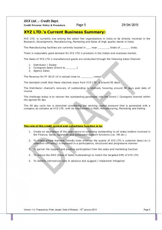 Operating Manual Template template Pinterest Template and Patterns
