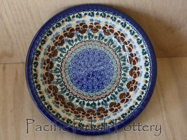 Polish Pottery Unikat Soup & Salad Bowl (Pattern 1161)