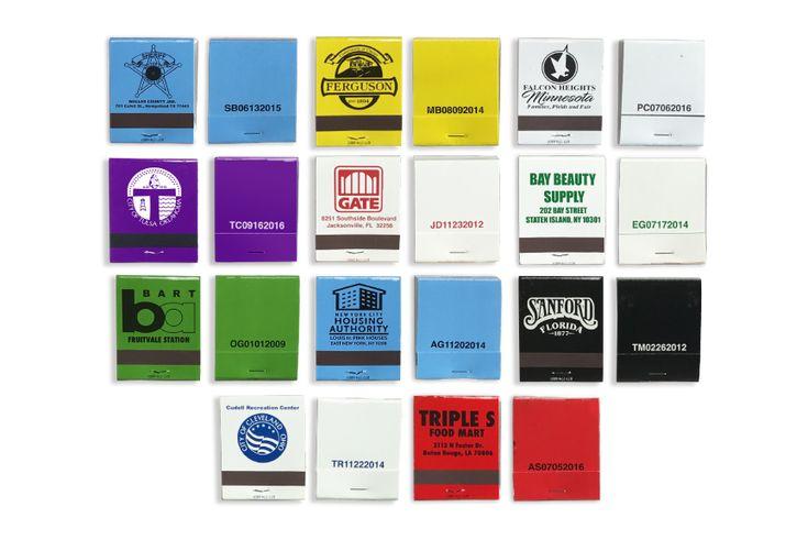 matchbook samples