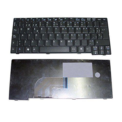 Acer Aspire One Zg5 Zg6 Zg8 A110 A150 D150 D250 Kav10 Kav60 Za8 531 OEM Spanish Keyboard NSK-AJE0S MP-08B46E0 Black Color Teclado Espaأ±ol