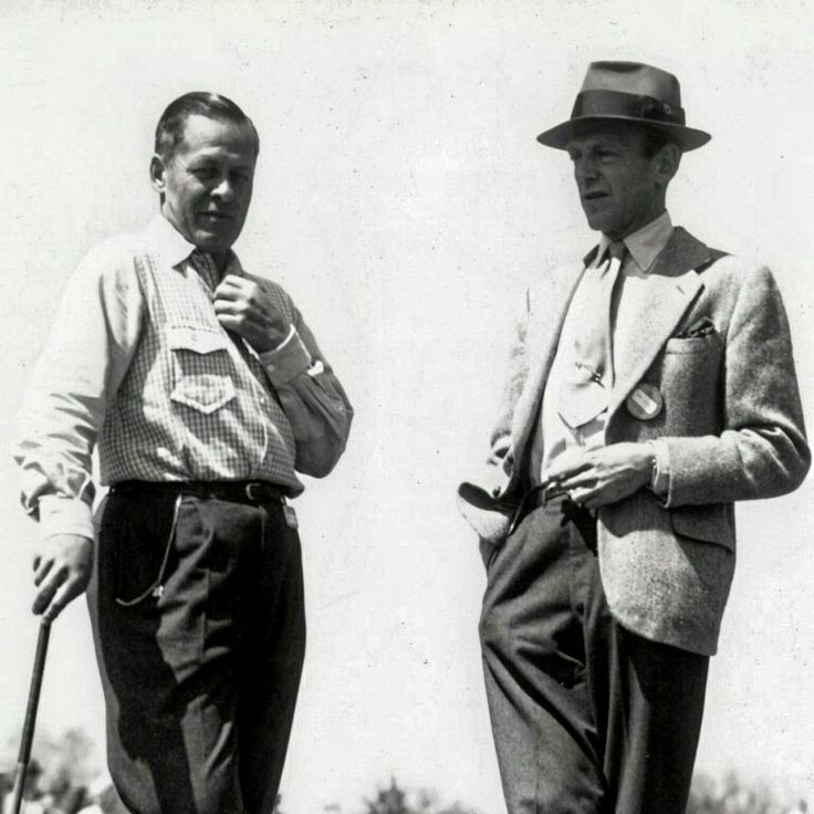 Fred Astaire at the Masters in 1946 or 1947