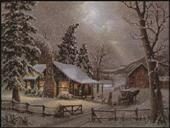 Darmowe wzory do haftu krzyżykowego - Ariadna - Święta - Boże Narodzenie - Zima