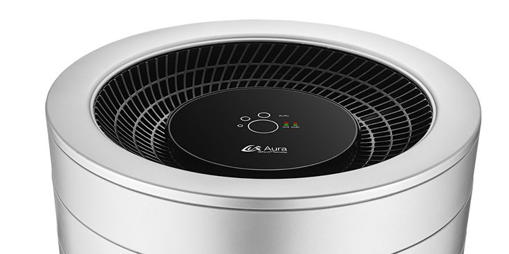 2014 Lux Aura The no-touch interface is controlled with a simple sweep of the hand