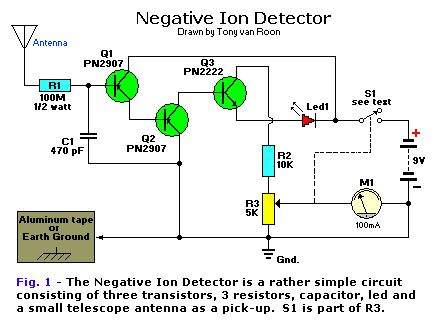 1960 ion drives Google Search Simple circuit, Circuit
