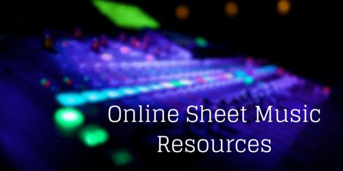 Online Sheet Music Resources