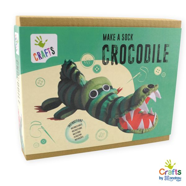 AndreuToys - Make a Sock Crocodile