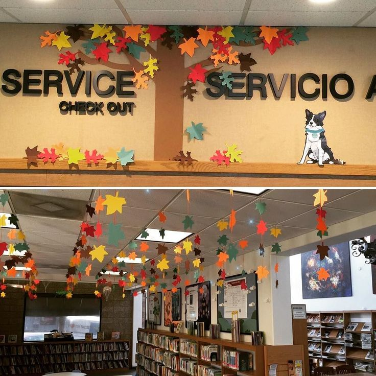 Although itll be over 90 degrees this week outside our San Fernando Library the library is ready for fall! Pick up some books to read when we finally get some sweater weather (hopefully soon!)
