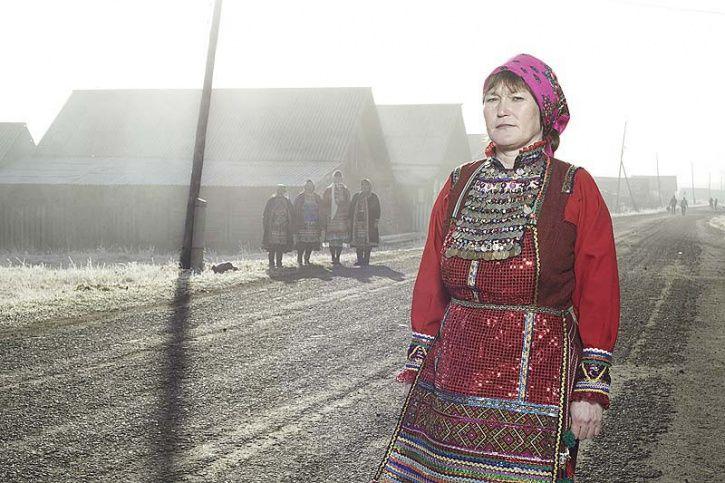 Mari people of Russia.