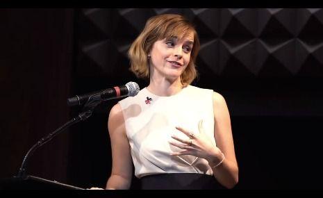 Emma launching UN Women's HeForShe #ArtsWeek #emmawatson - http://www.halostar.net/actor-emma-watson