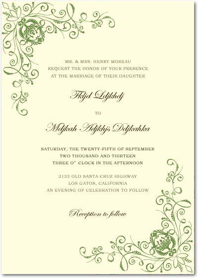 242 best invitation card images on pinterest prom dresses uk uk green animate parasites wedding invitations hpi021 stopboris Image collections