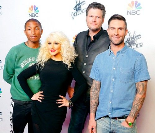 """Gwen Stefani is getting the thrown off The Voice and replaced by Christina Aguilera! Season 9 of """"The Voice"""" just kicked off on NBC with ..."""
