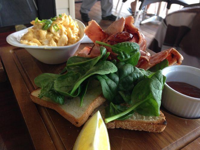 Kingfisher Seafood Cafe - Breakfast Menu