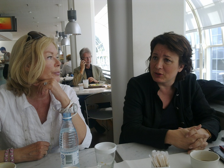 Tertta with Lilli Paasikivi, the becoming Artistic Director of the Opera.