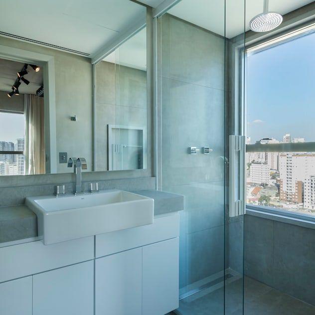 あなたのバスルームにどうぞ 素晴らしいシャワー室 バスタブ9選 Homify 2020 シンプル バスルーム バスルーム おしゃれ バスルーム