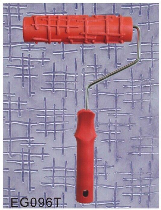 """Barato DIY 7 """"3D de borracha rolo de pintura de parede, decoração home arte EG096T gravura rolo de alta qualidade frete grátis, Compro Qualidade Conjuntos de Utensílios de Pintura diretamente de fornecedores da China:   descrição:empaistic padrão rolo de pintura da florótimo para decoração máquinarolo de borracha é a melhor"""