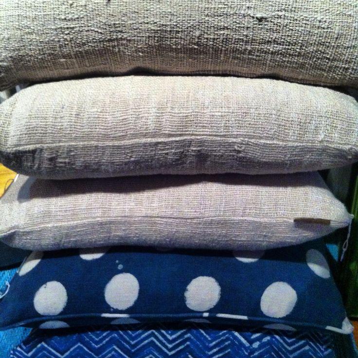 Great Organic Cotton and Linen, block print.