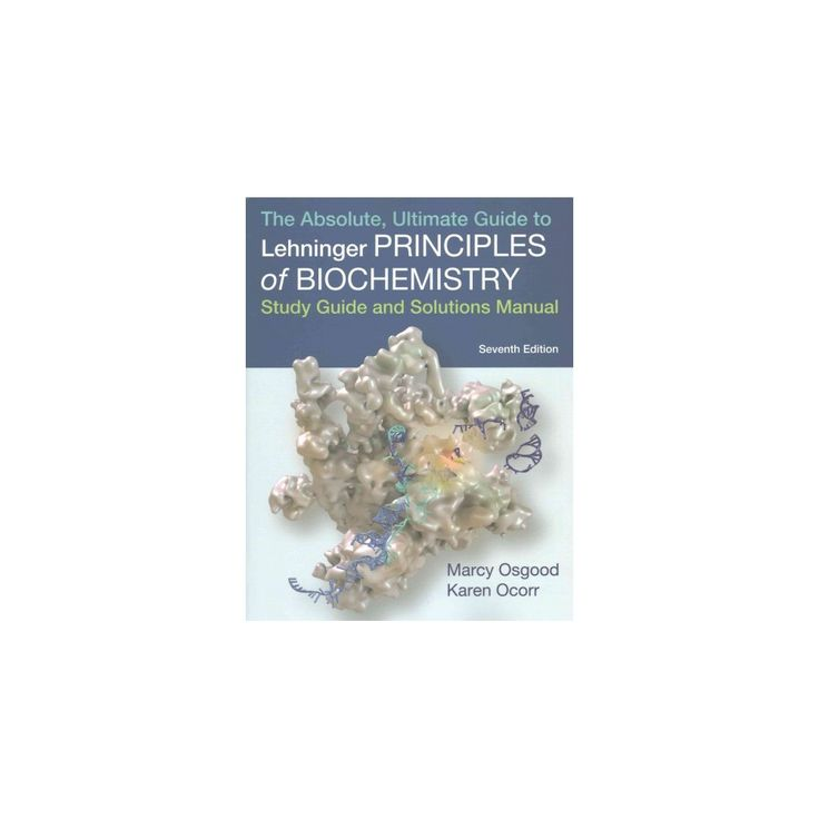 Lehninger Principles of Biochemistry (Paperback) (David L. Nelson & Michael M. Cox)