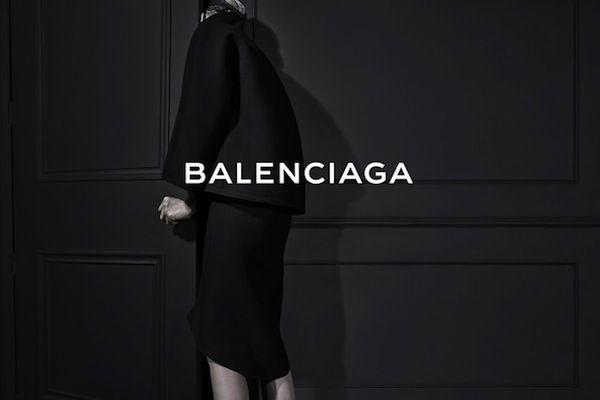 Alexander Wang's First Campaign for Balenciaga