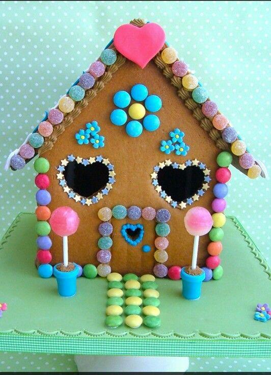 Hansel And Gretel House Cake