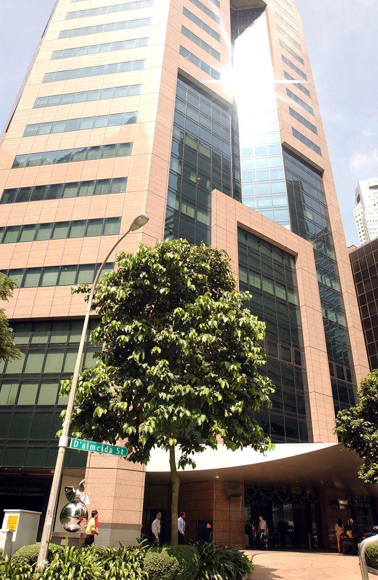 Szingapúr ING épület, Singapore ING building