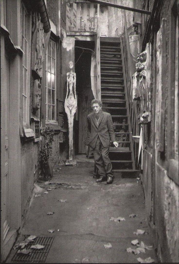 Giacometti, Paris, 1961